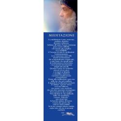 Segnalibro Osho: Meditazione