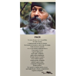 Poster Osho: Pace