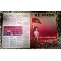 Tovaglietta Re Nudo anni 70 - Re Nudo N. 34