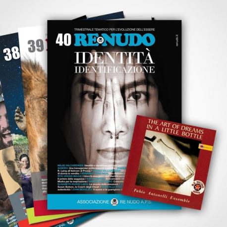 Re Nudo con CD - tutti i numeri da 1 a 40